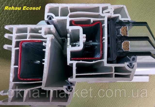 Качественные окна Rehau Ecosol
