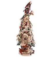 """Фарфоровый подсвечник """"Новогодняя елка"""" (Pavone) BS-520"""
