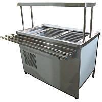 Холодильный прилавок ПВХЛС с одной полкой