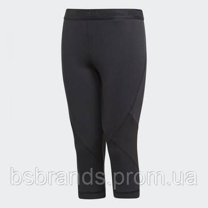 Укорочені штани adidas YG ALPHASKIN SPORT 3/4(АРТИКУЛ:CF7210), фото 2