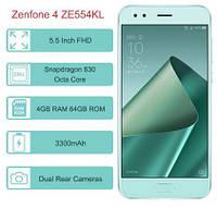 Мобильный телефон ASUS ZenFone 4 ZE554KL 4/64 NFC Green