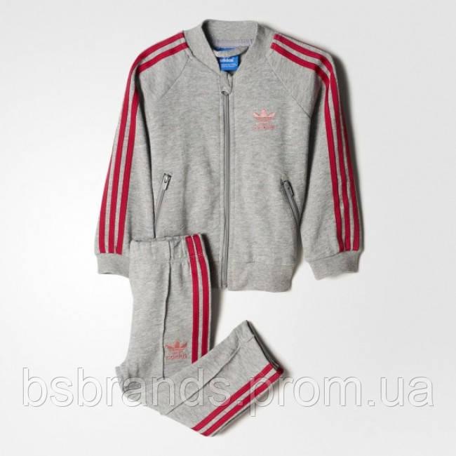 Детский спортивный костюм и брюки adidas TREFOIL LOGO(АРТИКУЛ:BK4630)