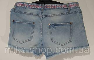 Короткие эластичные шорты Размер 164 (S), фото 3