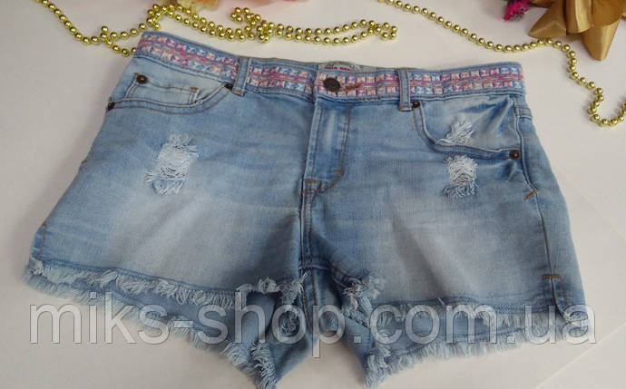 Короткие эластичные шорты Размер 164 (S), фото 2