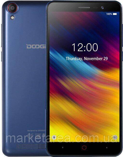 """Смартфон Doogee X100 blue синий (2SIM) 5"""" 1/16GB 3G Гарантия!"""