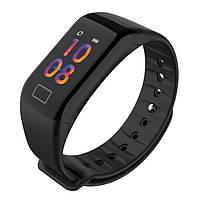 Фитнес-браслет Smart F1 Plus давление пульс GPS кислород шагомер IP67 Калории SMS Звонки Bluetooth Селфи, фото 1