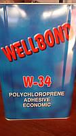 Клей  Wellbond W-34, 1 л