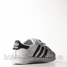 Детские кроссовки adidas Superstar foundation K (АРТИКУЛ:B26070), фото 3