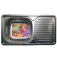 Кухонная стальная мойка Galati Anka Textura 7141