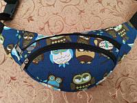 Поясная сумка принт мужская/женская, бананка, сумка через плече, фото 1