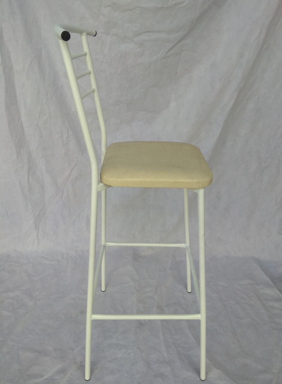 Барный стул Марко экокожа белый
