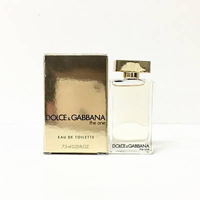 Женские духи мини DOLCE & GABBANA The One for Women 7.4 ml, фруктовый соблазнительный аромат с нотой ванили
