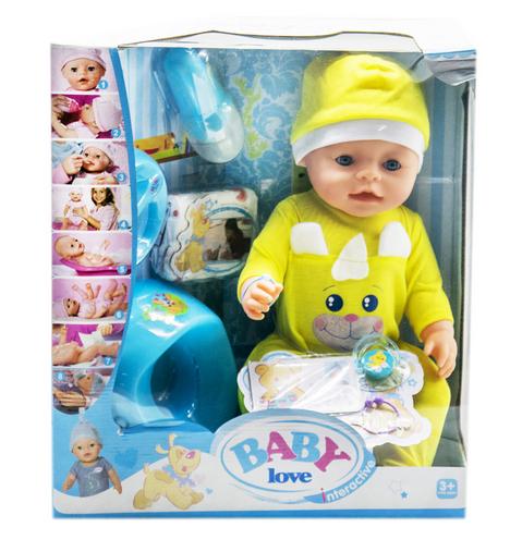 Кукла Пупс. Функциональный пупс с аксессуарами. Интерактивная игрушка пупс.