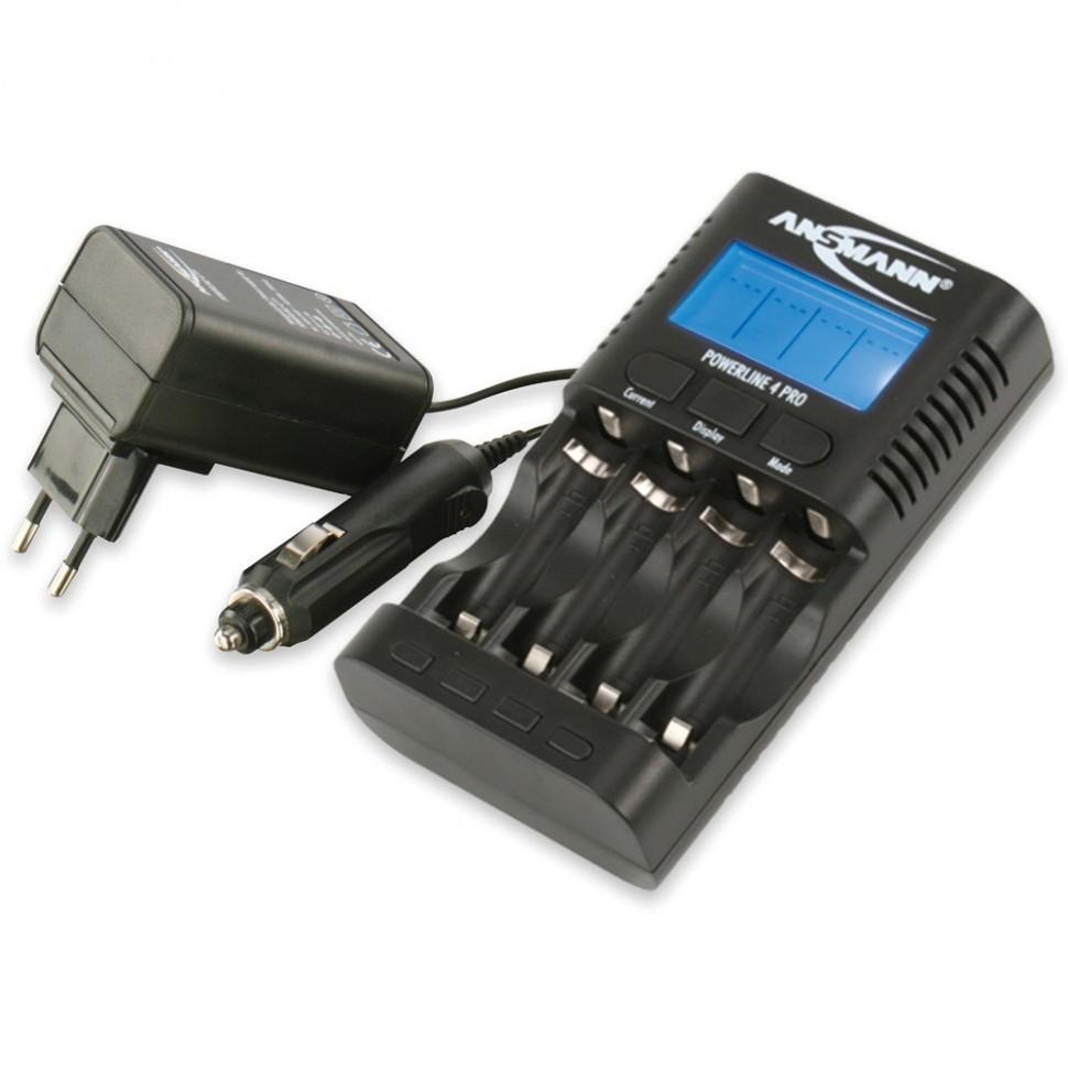 Зарядное устройство Ansmann Power Line 4 Pro