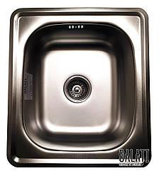 Кухонная мойка из нержавеющей стали Galati Nicola Satin 9665