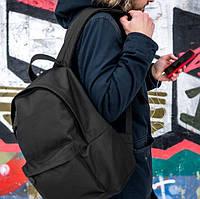 Уличный мужской рюкзак mod.StuffBox, черный на 20 литров, городской oxford 600 d