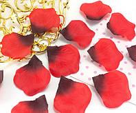 (≈140шт) Лепестки роз, искусственные Цена за упаковку Цвет - Красно-чёрный