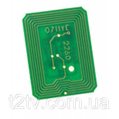 Чип для картриджа Oki C822 (44844613) Static Control (OKI822CP-YEU)
