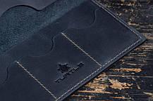 Мужское портмоне кошелек Финансист темно-синий, фото 3