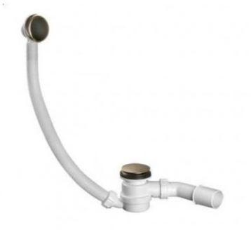 Сифон для ванны бронза 0427