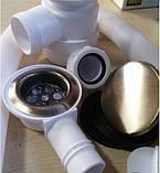 Сифон для ванны бронза 0427, фото 2