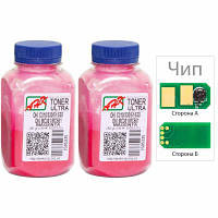 Тонер OKI C510/511/530 Magenta 2x80г ULTRA COLOR +chip AHK (1505443)