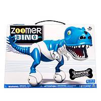 Интерактивная игрушка Зумер Дино синий Робот-динозавр от Spin Master / Spin Master Zoomer Dino Snaptail, фото 1
