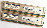Пара игровой оперативной памяти Super Talent DDR2 4Gb (2Gb+2Gb) 800MHz PC2 6400U CL5 (T8UB2GC5) Б/У, фото 1