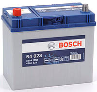 Аккумулятор 6СТ-45A Bosch Asia (S4023), 12V, 45Ah (+/-) Бош азия, 12В, 45Ач, EN330А