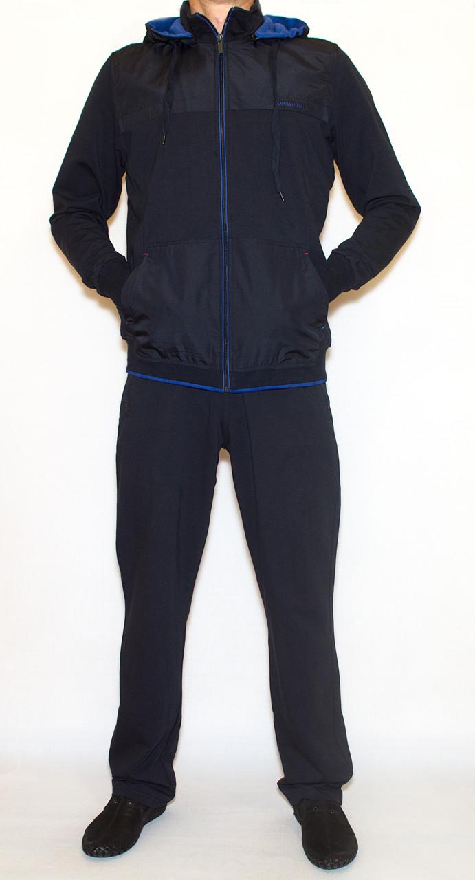 Мужской спортивный костюм AVIC4211 с капюшоном (L-3XL)
