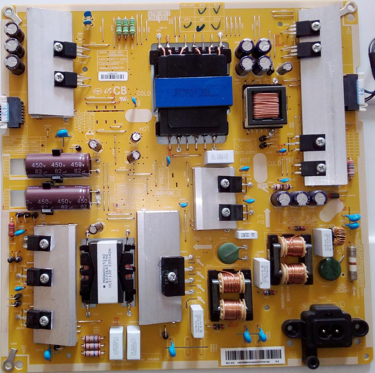 Блок живлення BN96-35336A до телевізора SAMSUNG UE48JU6050U