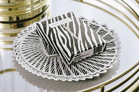 Карти гральні   King Slayer: Zebra by Ellusionist, фото 2