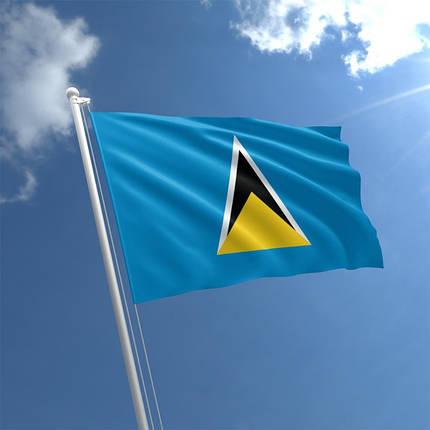 Флаг Сент-Люсии, фото 2