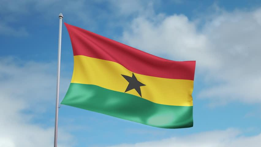Флаг Ганы