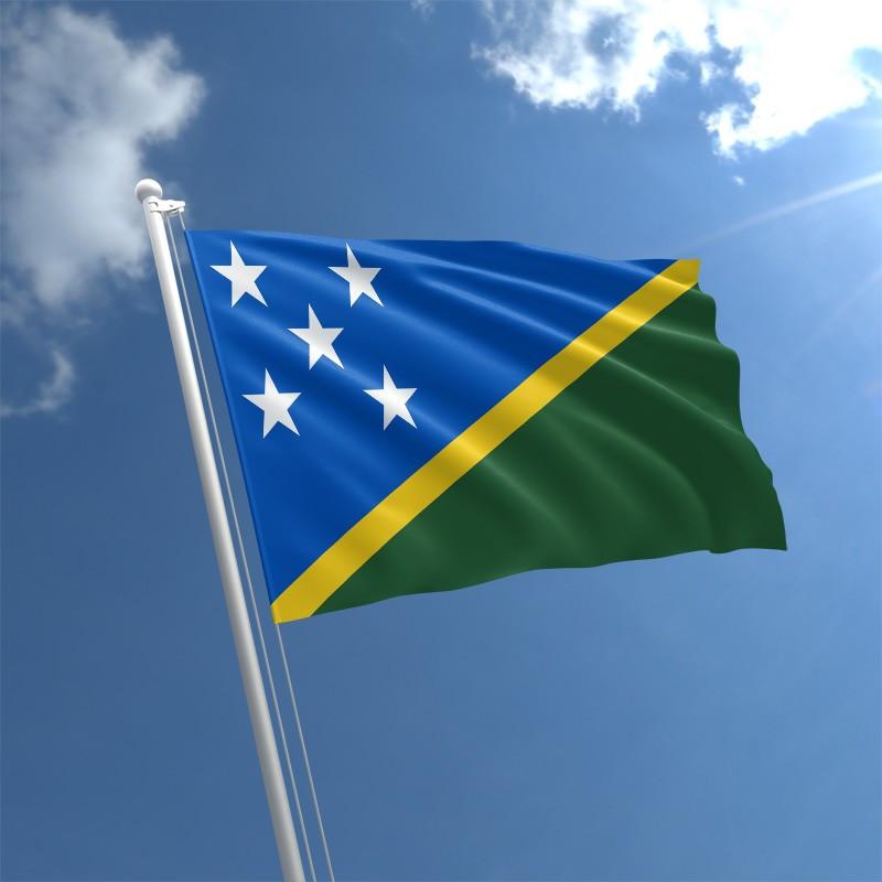 Флаг Соломоновых Островов