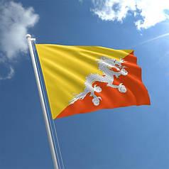 Прапор Бутану