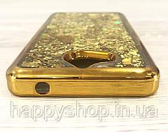 Чехол переливашка Beckberg Aqua для Huawei Y5 2017 (Bird Gold), фото 2