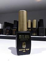 Топ Матовый Milano Matte 10 мл - верхнее покрытие для гель-лака