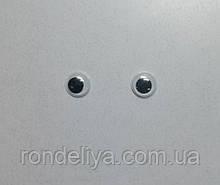 Глазки с подвижным зрачком 10 мм