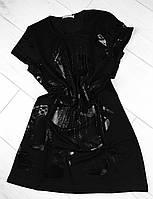 Платье-туника трикотаж.