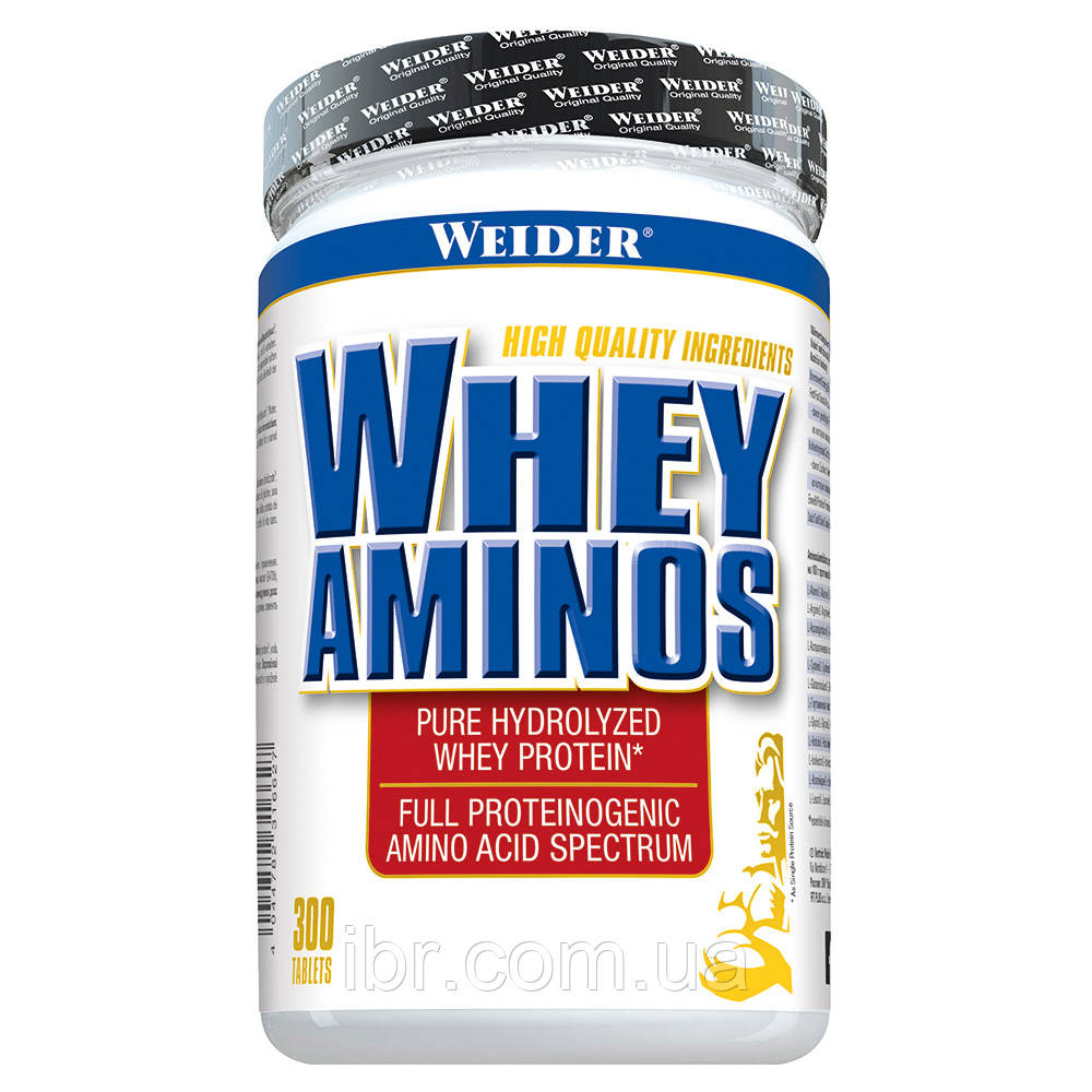 Аминокомплекс WEIDER WHEY AMINOS 300 tab