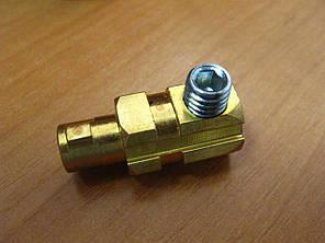Штекер зварювального кабелю 10-25 (9 мм), фото 2