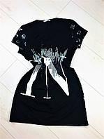 Платье прогулочное,Турецкий трикотаж.