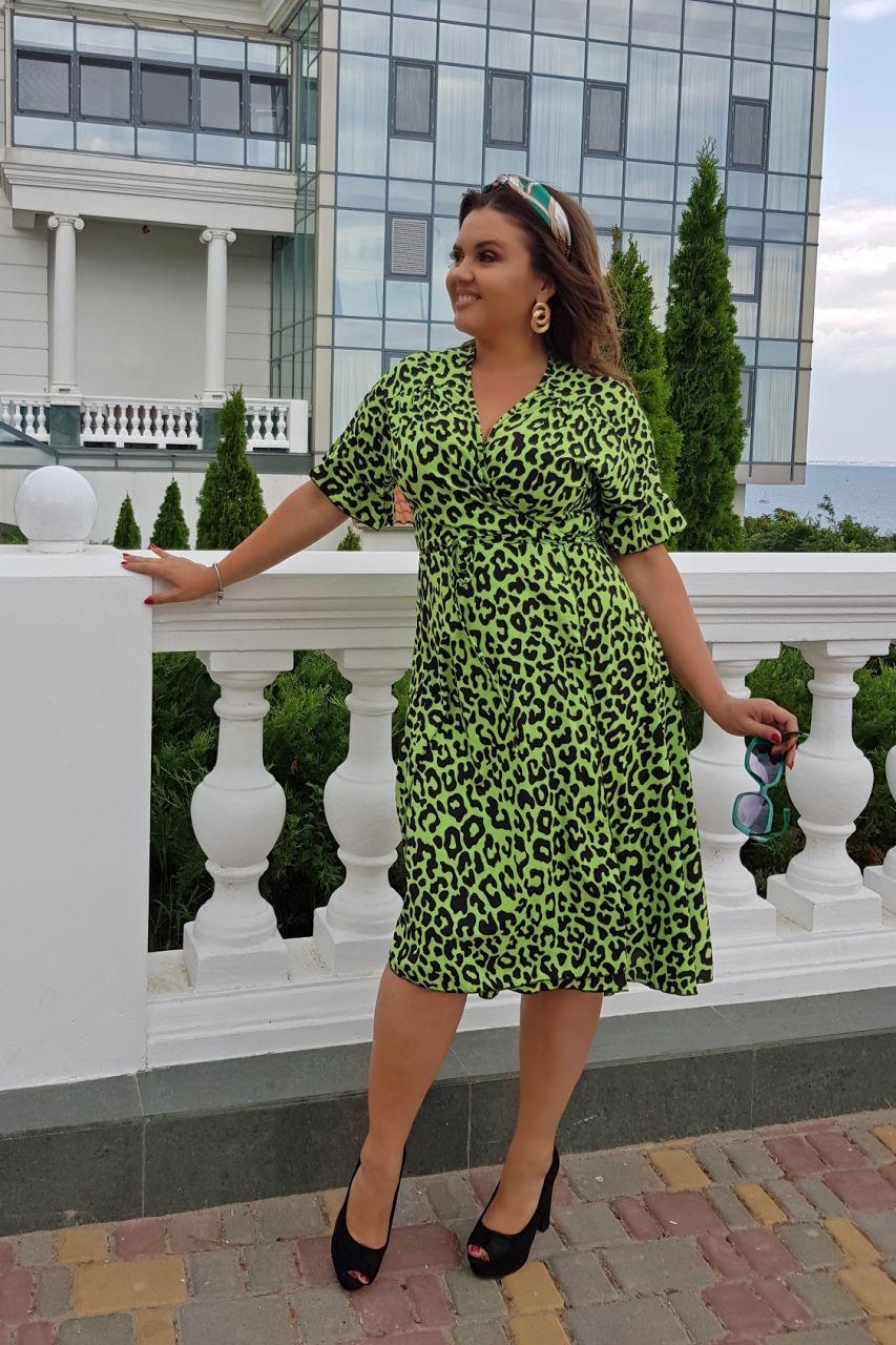 Платье  лео БАТАЛ 1604095