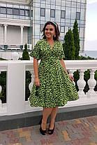 Платье  лео БАТАЛ 1604095, фото 3