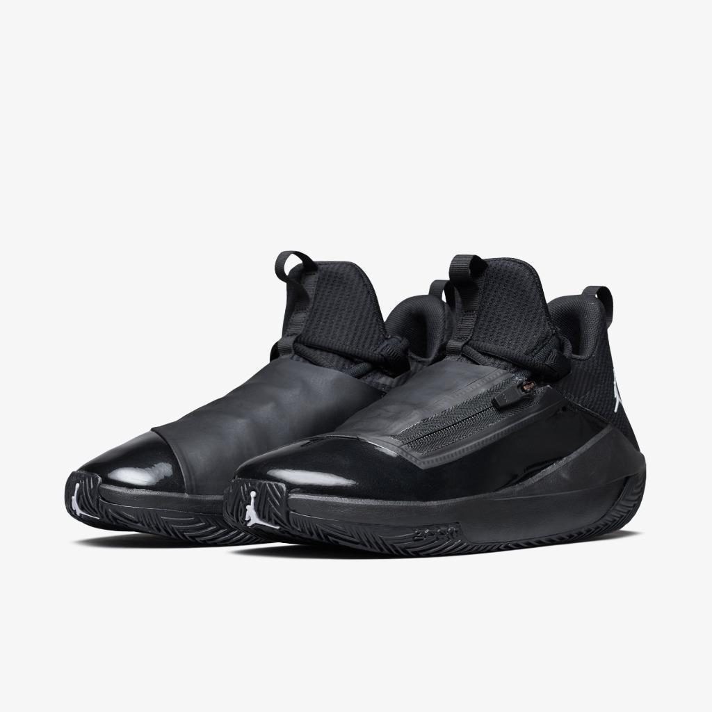 Nike Air Jordan Jumpman Hustle Оригинальные кроссовки черные большой размер ART AQ0397-001