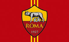 Флаг ФК Рома