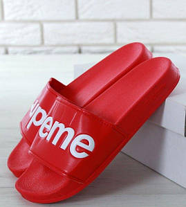 Мужские Шлепанцы Supreme Slippers Red