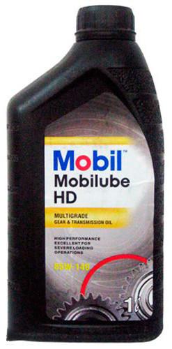 Масло трансмиссионное Mobilube HD 85W-140, тара 20 л