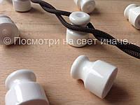 Коричневый провод для открытой проводки 2х0,75